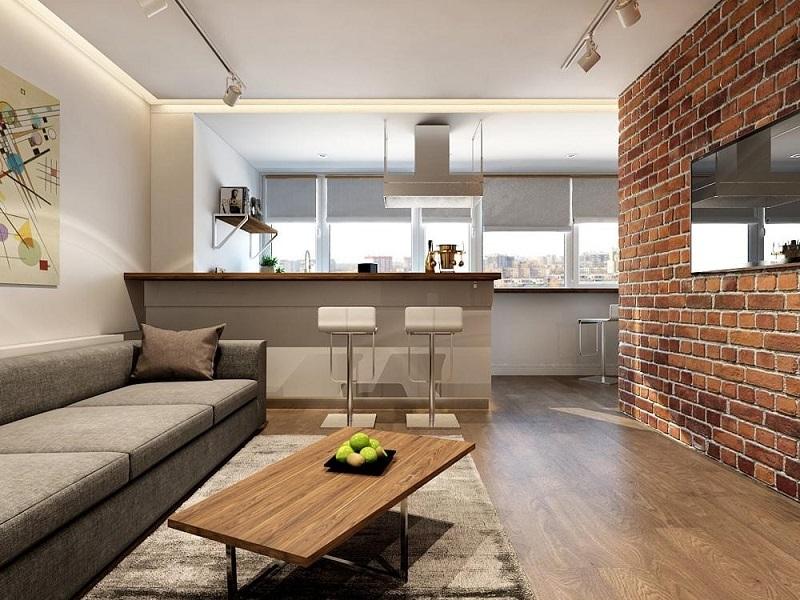 дизайн квартиры евродвушка фото славится