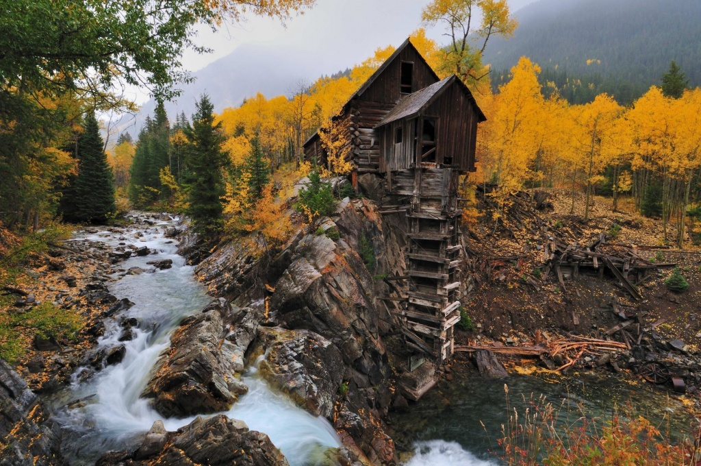 Crystal Mill (Мельница Кристалл)/Колорадо, США