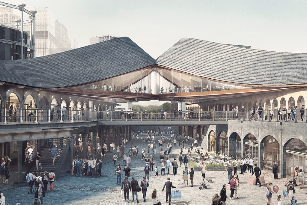 Coal Drops Yard от Heatherwick Studio | Лондон