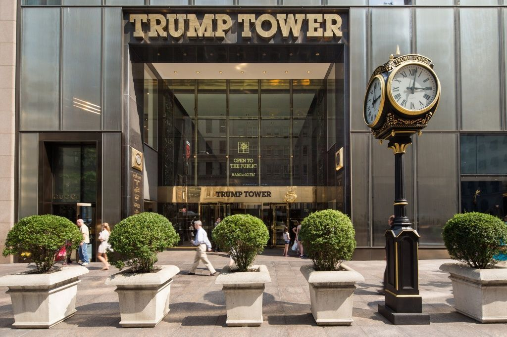 Архитектура недели: Трамп-тауэр(Trump Tower) в Нью-Йорке — PR-FLAT.RU
